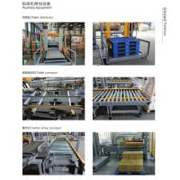 Wholesale Case Packing Filling Automatic Palletizer Machine For Flat Pet / PP Bottles from china suppliers