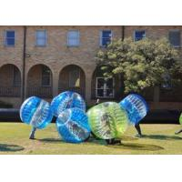 Wholesale Tpu / Pvc 1.5m Outdoor Inflatable Toys Human Inflatable Bumper Bubble Ball For Adult from china suppliers