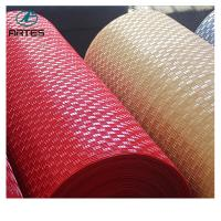 Wholesale Waterproof pvc car roll mat bronze 1.2*9m newest style plastic roll mat 1.43*9m thickness 5-8mm from china suppliers
