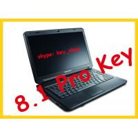 Buy cheap OEM 100% online activated  Windows 8.1 Pro key computer software FPP W 8 pro key sticker DHL free shipping from wholesalers