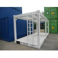 China General Purpose Steel Containers , 20ft High Cube Shipping Container Frame for sale