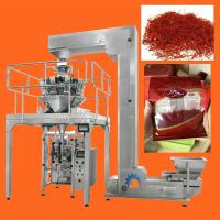 Wholesale High Speed Multihead Weigher Automatic Packing Machine For Dried Saffron , Cranberries , Fruit from china suppliers