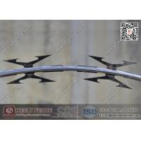 Wholesale CBT-60 Hot Dipped Galvanised Concertina Razor Barbed Wire O.D. 500mm | Factory Sales from china suppliers