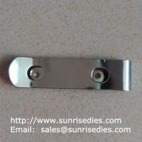 Wholesale Manganese steel spring clips heat treated, stamped manganese steel spring clips from china suppliers