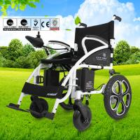 Wholesale Steel Small Motorized Wheelchair , Lightweight Transport Wheelchair from china suppliers