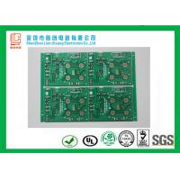 Wholesale Key board FR4 0.8mm Double sided PCB green immersion Gold TS16949 / SGS from china suppliers
