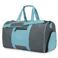 China 600D Polyester Weekender Duffle Bag Shoes Pockets Inside 21 x 10.5 x 12 on sale