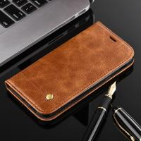 Wholesale Oily Vintage Samsung A3 Leather Case , Retro Line Cell Phone Leather Wallet Case from china suppliers