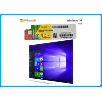Wholesale Pro / Businesses PC Computer Software Genuine Windows 10 Product Key Sticker 32 / 64 Bit from china suppliers