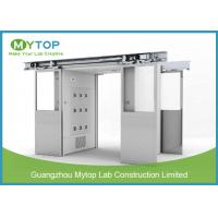 Class 100 Clean Room Lab Equipment , Goods Air Shower Passage For Food Factory for sale