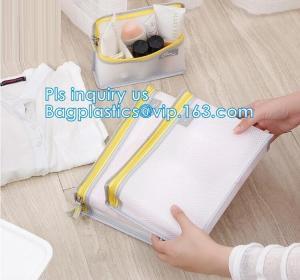 China Nylon Mesh Makeup Bag Ladies Cosmetic Bag, nylon mesh fabric/mesh cosmetic bag, Promotional Mesh Cosmetic Bag on sale