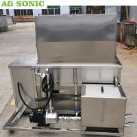 Wholesale Stainless Steel Ultrasonic Engine Cleaner 28khz Frequency With Oil Filtration System from china suppliers