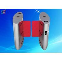 Wholesale Swing Barrier Turn Style Door , Automatic Turnstile Barrier Gate Control System from china suppliers
