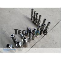 China AMMT Pin Coil Tubing Connector / Alloy Steel CT Thread Connector Easy Installed on sale