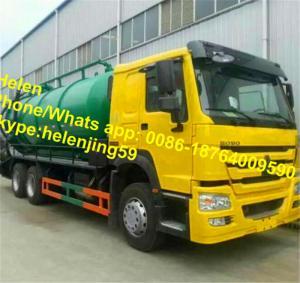 Wholesale LHD / RHD 6x4 10 wheels Vacuum Truck / 20 CBM Sewage Pumping Trucks from china suppliers