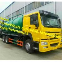 Wholesale SINOTRUK HOWO EuroII 6x4 10 wheels Vacuum Truck 20 CBM Sewage suction Truck from china suppliers