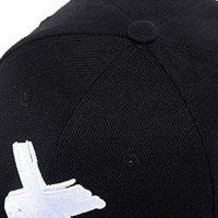 Wholesale Six Panels 8cm Long Flat Brim Snapback Hats With Metal Buckle from china suppliers