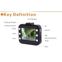 Wholesale High resolution Night Vision  HD Car DVR with GPS G-sensor ,  SD card from china suppliers
