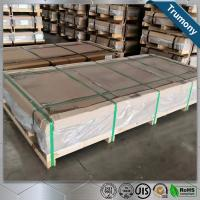 Wholesale Huge Length Width 2mm Aluminium Alloy Sheet For Automobile High Speed Railway from china suppliers