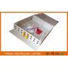 Buy cheap Indoor Floor Fiber Customer Terminal Box Metal Wall mount , ST Optical Distribution Box from Wholesalers