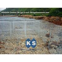 Wholesale Flexible Steel Wire Mesh Gabion Rock Baskets Mountain Protect Mesh 80mm x 100mm from china suppliers