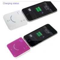 China White / Black iPhone 4 Mobile Power Station 1900mAh Lightning Adaptor on sale