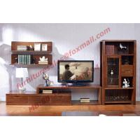Wholesale Classic Design Solid Wood Material TV Stand for Wall Unit in Living Room Furniture from china suppliers