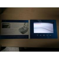 Wholesale IPS Screen 1024X600 pixels  7inch LCD video book video brochure , Magnetic switch from china suppliers