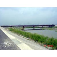 Wholesale Assembly Steel Bailey Bridge deck truss Concrete Deck , Galvanized from china suppliers