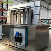 Wholesale Automatic Ultrasonic Cleaner with Hydraulic Lift PLC Controlled for Wheel Rim Cleaning from china suppliers