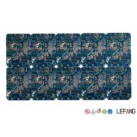Buy cheap Multilayer High TG170 PCB Blue Solder Printed Circuit Board for GPS Displayer from wholesalers