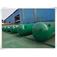 Wholesale 10mm Thickness Vertical Compressed Air Reservoir Tank With Flange / Screw Thread Connector from china suppliers