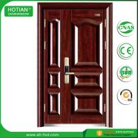 China CE Approbed Steel Fire Rated Door Popular for House Entrance Metal Doors on sale