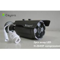 Wholesale Outdoor Megapixel IP Remote Monitoring Camera / CMOS Sensor Camera from china suppliers