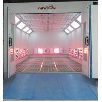 Quality Short Wave Infrared Lamp Heating Side Draft Paint Booth For 4S Shop for sale