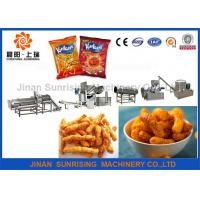Wholesale Fried Kurkure Cheetos Nik Naks Machine / Snacks Production Machines Low Consumption from china suppliers