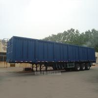 Wholesale High-Sided drop grain trailer dropsides drop flatbed trailer side board semi trailer from china suppliers