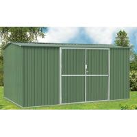 Wholesale Waterproof Galvanised Steel Metal Garden Shed For Tools Storage , 10ft x 10ft from china suppliers