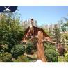 Durable Outdoor Dinosaur / Wings Movable Pterosaur Decoration For Amusement Park for sale