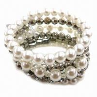 Wholesale Handmade Beaded Bracelet with CCB Plating Color from china suppliers