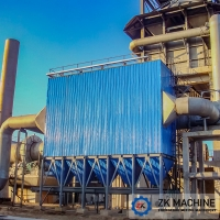 China Bag Filter Type Pulse Jet Dust Collector Multipurpose For Lime Cement Plant on sale