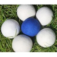Wholesale china factory Colored Pure Genuine  6-Pack XL 100% Wool Dryer Balls from china suppliers