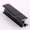 6000 Series CNC Aluminum Profile T3 - T8 Decorative Line Black Anodize for sale