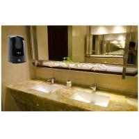 Quality Wall Mounted Automatic Bathroom Hand Soap Dispenser Black 1000ML Capacity for sale