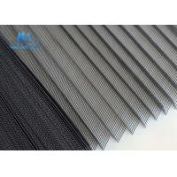 Wholesale 18*16 Plisse Insect Screen Grey Color Cold Resistant For Doors And Windows from china suppliers