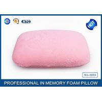 Wholesale Portable High Density Memory Foam Sleep Pillow For Car / Air / Home Decorative from china suppliers