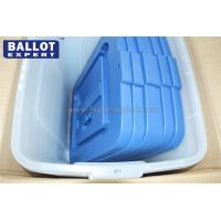 Quality 55L Plastic Election Ballot Box With Sign Holder 50*40*75 cm for sale