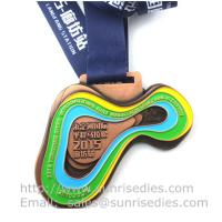 Wholesale Metal sport medal factory China, enamel metal medallion manufacturer directly from china suppliers