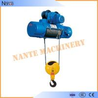 China High Speed Monorail 3 Phase Electric Wire Rope Hoist 20 Ton 0.5~8m/min on sale