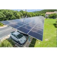 Wholesale Ground Mount Carport Solar Systems with Natural Color 10 15 20 30 Tilt Angle from china suppliers